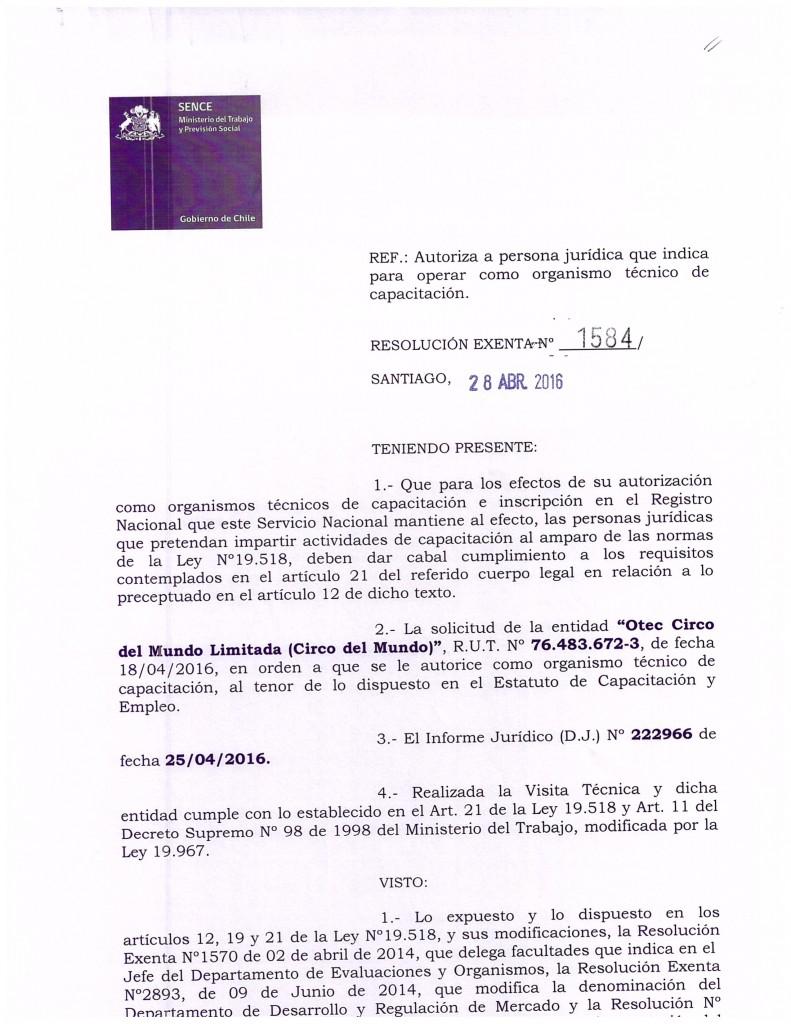 Certificacion OTEC CIRCO DEL MUNDO-1