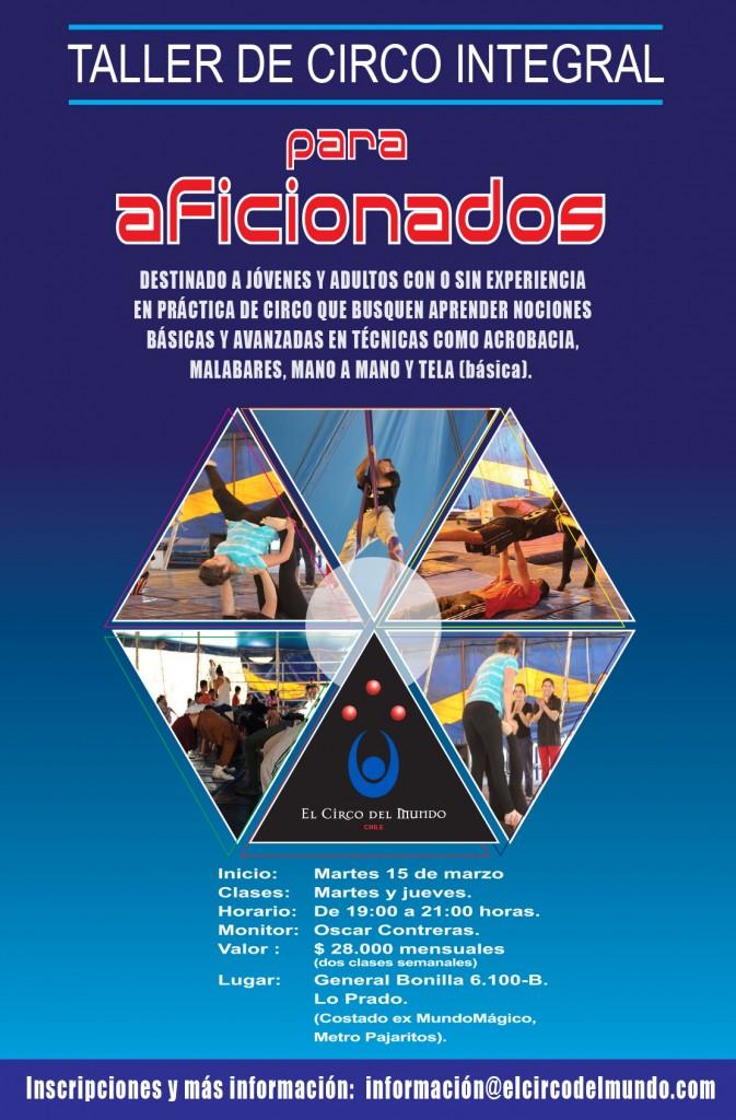 TALLERES INTEGRALES AFICIONADOS 2016