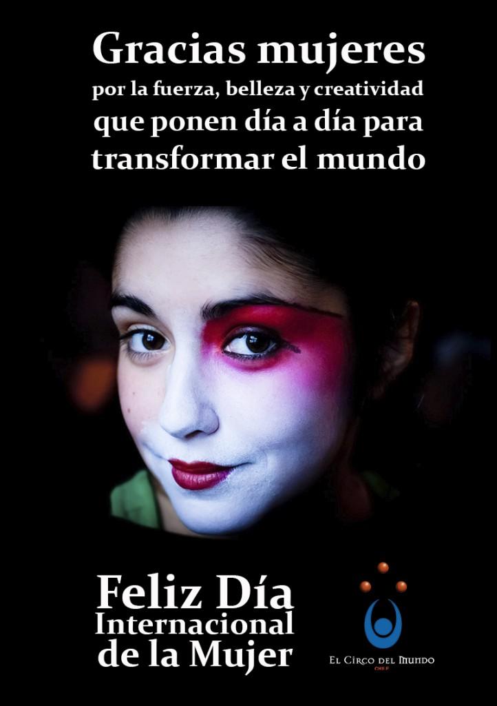 Saludo dia de la mujer