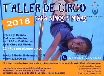 TALLER NIÑOS Y NIÑAS MARZO 2018_con Oscar y alana