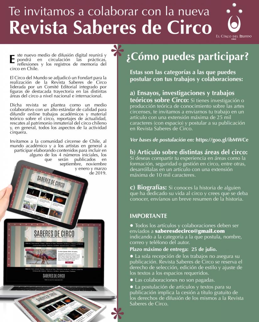 Flyer_Colabora con Rev Saberes de Circo