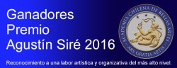Premio Agustín Siré 2016